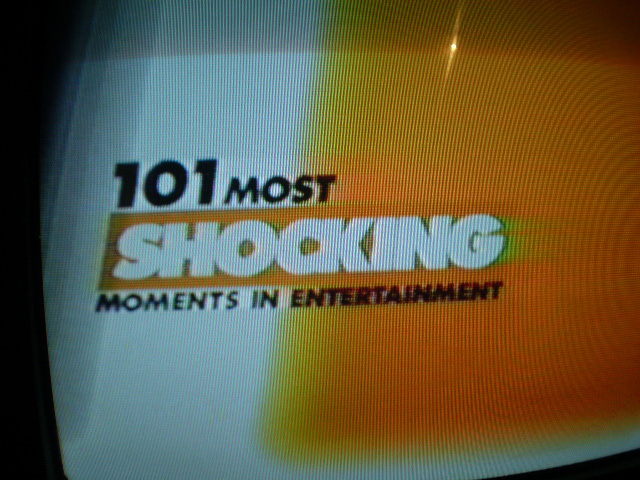 E! 101 Most Shocking Moments in Entertainment History