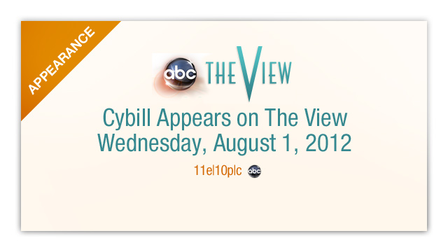 Tune in Wednesday, August 1st 11e|10p|c to watch. Click here for show info: http://theview.abc.go.com/