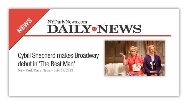 Cybill is featured in The New York Daily News – July 27, 2012 Read more »